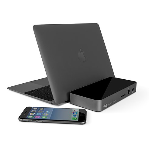 "OWC USB-C dock HMDI pre Macbook 12"" - Space Gray"