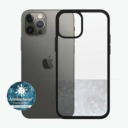 PanzerGlass kryt ClearCase AB pre iPhone 12/12 Pro - Black