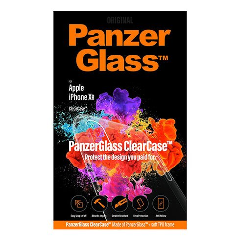 PanzerGlass kryt ClearCase pre iPhone XR - Clear