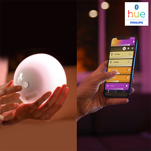Philips Hue Go Bluetooth wireless LED light white