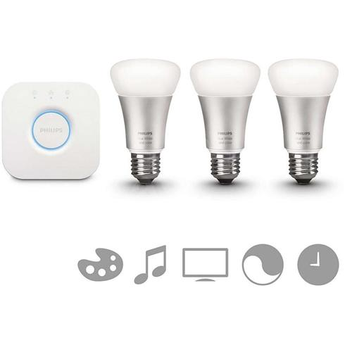 Philips White and Color Ambience Starter Kit 10W E27 V*3