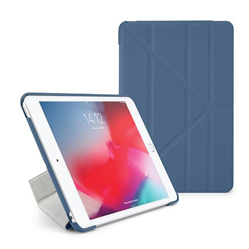 Pipetto puzdro Origami Case pre iPad mini 5 (2019) - Blue