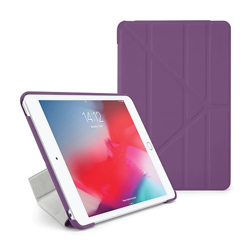 Pipetto puzdro Origami Case pre iPad mini 5 (2019) - Purple