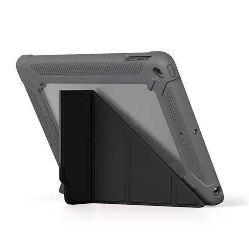 Pipetto puzdro Origami Shield Case pre iPad 9.7 2017/2018 - Black