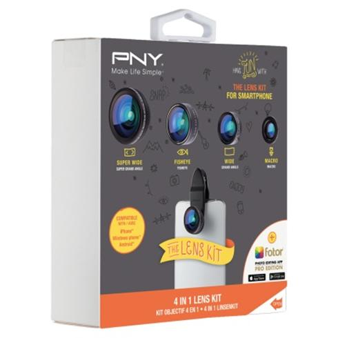PNY The Lens Kit 4-IN-1