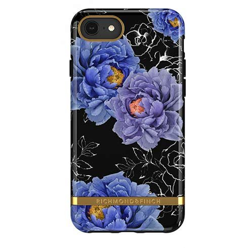 Richmond & Finch kryt Blooming Peonies pre iPhone 6/7/8/SE 2020 - Gold Details