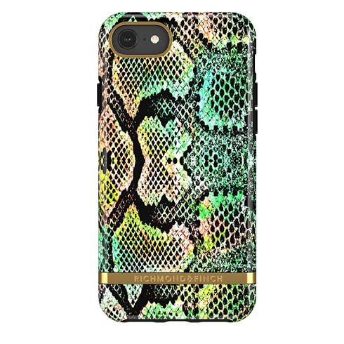 Richmond & Finch kryt Exotic Snake pre iPhone 6/7/8/SE 2020 - Gold Details