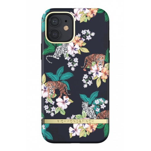 Richmond & Finch kryt Floral Tiger pre iPhone 12/12 Pro - Gold Details