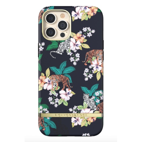Richmond & Finch kryt Floral Tiger pre iPhone 12 Pro Max - Gold Details