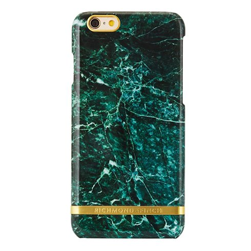 Richmond & Finch kryt Marble pre iPhone 6/6s - Green