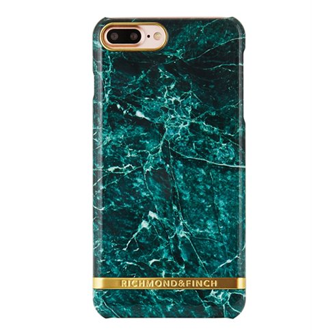 Richmond & Finch kryt Marble pre iPhone 7 Plus - Green