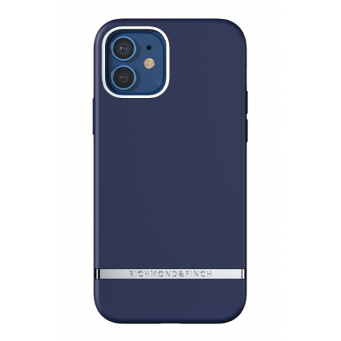 Richmond & Finch kryt Navy pre iPhone 12/12 Pro - Silver Details