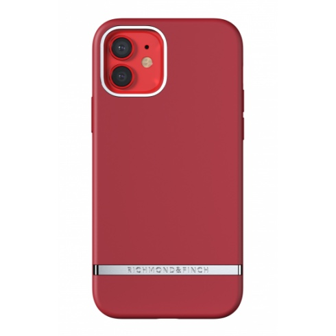 Richmond & Finch kryt Samba Red iPhone 12/12 Pro - Silver Details