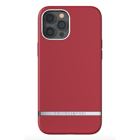 Richmond & Finch kryt Samba Red iPhone 12 Pro Max - Silver Details