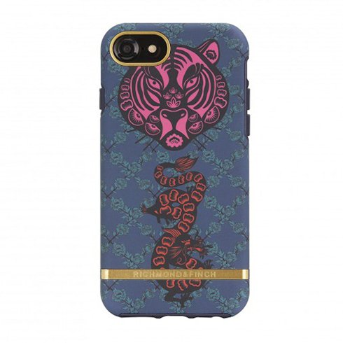 Richmond & Finch kryt Tiger & Dragon pre iPhone 6/7/8/SE 2020 - Gold Details