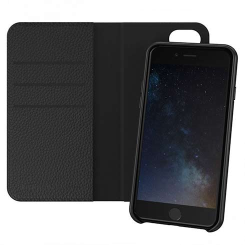 Richmond & Finch puzdro Wallet Case pre iPhone 6/7/8/SE 2020 - Black