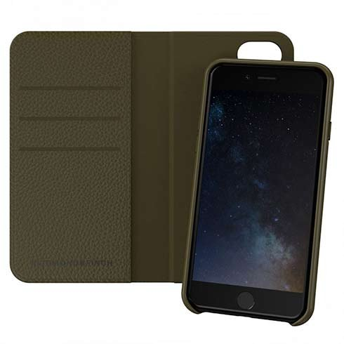 Richmond & Finch puzdro Wallet Case pre iPhone 6/7/8/SE 2020 - Emerald Green