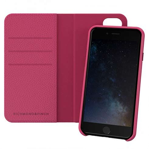 Richmond & Finch puzdro Wallet Case pre iPhone 6/7/8/SE 2020 - Pink
