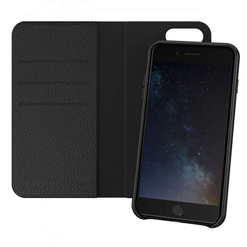 Richmond & Finch puzdro Wallet Case pre iPhone 7 Plus/8 Plus - Black