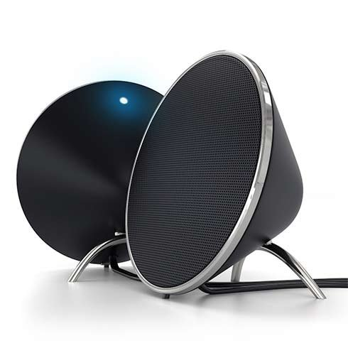 Satechi Dual Sonic Conical Speakers Black reproduktor