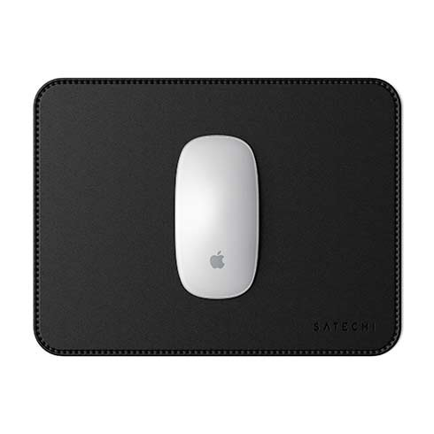 Satechi podložka pod myš Eco-Leather Mouse Pad - Black