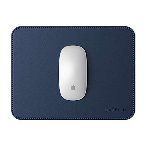 Satechi podložka pod myš Eco-Leather Mouse Pad - Blue