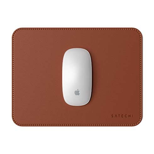 Satechi podložka pod myš Eco-Leather Mouse Pad - Brown