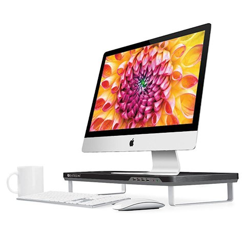 Satechi stojan F3 Smart Monitor Stand - Black