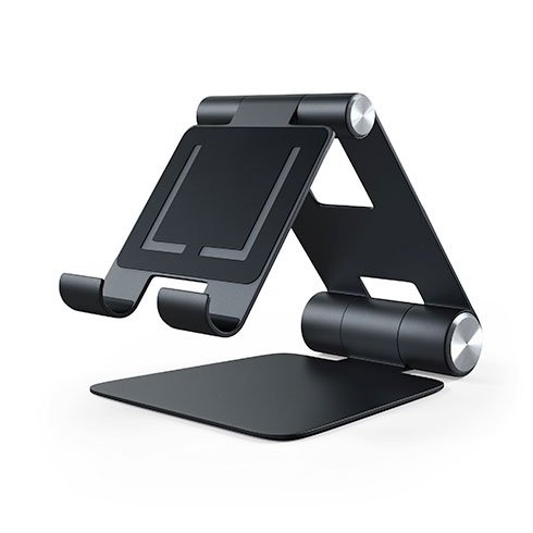 Satechi stojan R1 Hinge Holder Foldable Stand - Black Aluminium