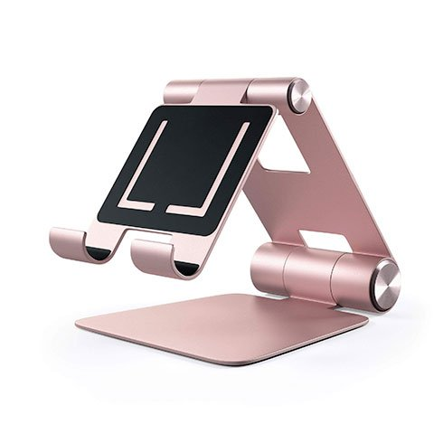 Satechi stojan R1 Hinge Holder Foldable Stand - Rose Gold Aluminium