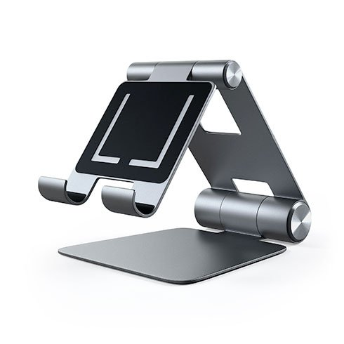 Satechi stojan R1 Hinge Holder Foldable Stand - Space Gray Aluminium