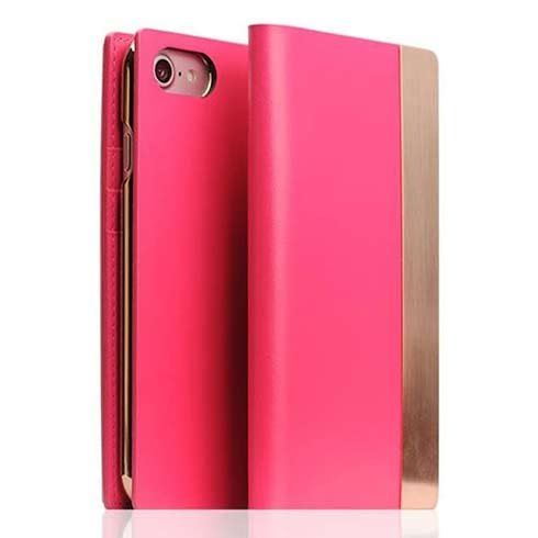 SLG Design puzdro D5 Metal Case pre iPhone 7/8/SE 2020 - Pink