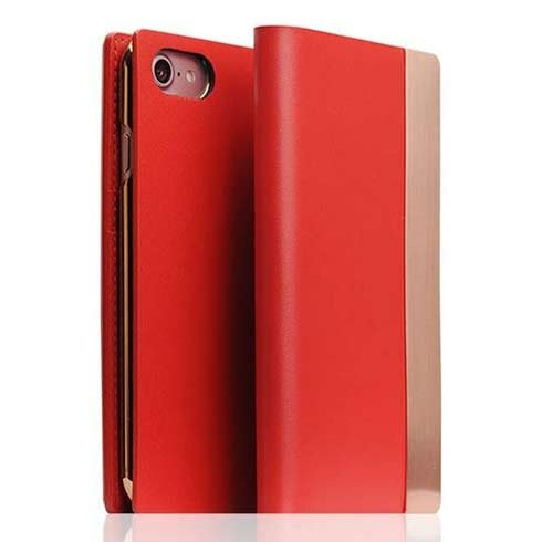 SLG Design puzdro D5 Metal Case pre iPhone 7/8/SE 2020 - Red