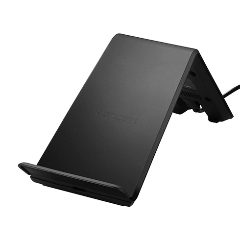 Spigen Essential F303W Wireless Fast Charger - Black