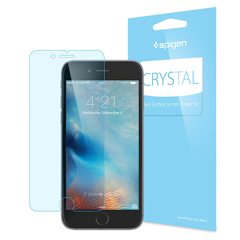 Spigen fólia Screen Protector Crystal pre iPhone 6/6s - Crystal Clear