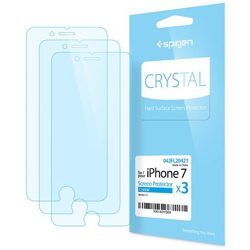 Spigen fólia Screen Protector Crystal pre iPhone 7/8 - Crystal Clear