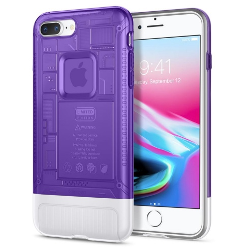 Spigen kryt Classic C1 pre iPhone 8 Plus - Grape