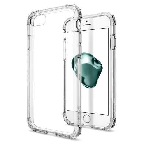 Spigen kryt Crystal Shell pre iPhone 7/8 - Clear Crystal