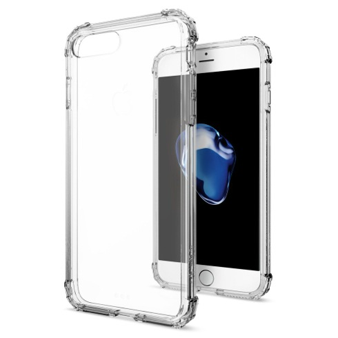Spigen kryt Crystal Shell pre iPhone 7 Plus - Clear Crystal
