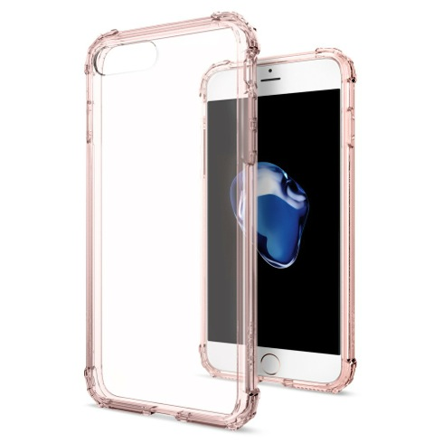 Spigen kryt Crystal Shell pre iPhone 7 Plus - Rose Crystal