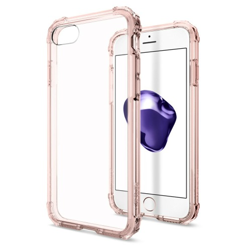 Spigen kryt Crystal Shell pre iPhone 7 - Rose Crystal