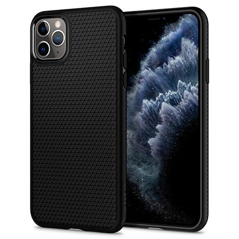 Spigen kryt Liquid Air pre iPhone 11 Pro - Black