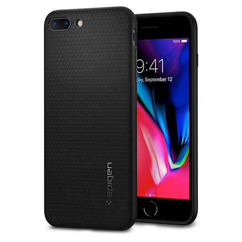 Spigen kryt Liquid Air pre iPhone 7 Plus/8 Plus - Black