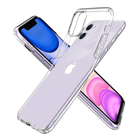 Spigen kryt Liquid Crystal pre iPhone 11 - Crystal Clear