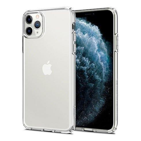 Spigen kryt Liquid Crystal pre iPhone 11 Pro - Crystal Clear