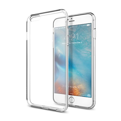 Spigen kryt Liquid Crystal pre iPhone 6 Plus/6s Plus - Crystal Clear