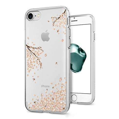Spigen kryt Liquid Crystal pre iPhone 7/8/SE 2020 - Shine Blossom