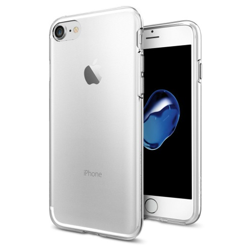 Spigen kryt Liquid Crystal pre iPhone 7 - Crystal Clear