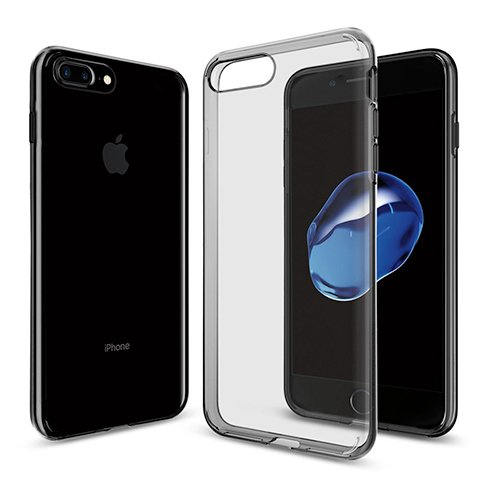 Spigen kryt Liquid Crystal pre iPhone 7 Plus/8 Plus - Space Crystal