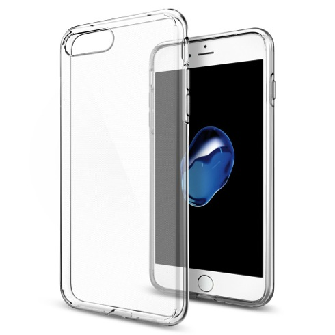 Spigen kryt Liquid Crystal pre iPhone 7 Plus - Crystal Clear